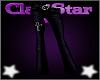 Cross Flares Purple