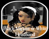 Black Miriam w White Hdb