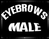 Derivable eyebrows male