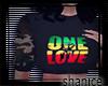 : One Love Camo crop top