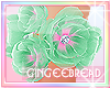 :G:Mint Flowers Bracelet