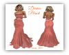 Diana Peach Gown