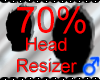 *M* Head Resizer 70%