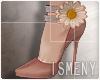 [Is] Flower Heels Coral