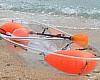 Clear Kayak Boat