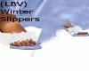 (LBV) Winter Slippers