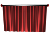 Red Trigger Curtains