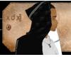 [XDX] Urban Black Hoodie