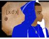 [XDX] Urban Blue Hoodie