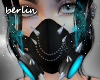 [B] Gas Mask, Black/Blue