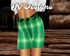 TK-Green Plaid Shorts F