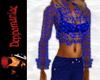 Anisette Top/Pants BLUE
