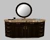 Marble/wood sink