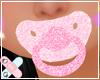 ♚ pink diamond paci