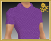 Goldi Purple Polo Shirt