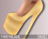 !mml Gold heels