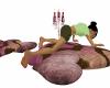 pink kiki lovers pillows