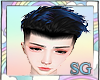 SG Kata BlakBlue Hair M