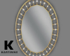 Gold And Pearl Mirror