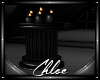 Dark Glamour Pillar