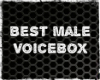 Best Male Voice Box