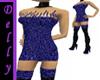 ~D~ Dk blue short dress