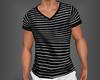Striped Shirt B&W