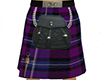 Highland Purple Kilt