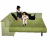 sofa with poses