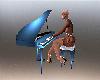 Glam Blue Piano