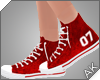 ~AK~ Varsity Shoe: Red
