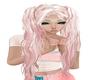 Miya~Pastel Pink pigtail