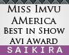 SK  Best Talent Trophy