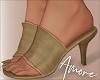 ! Camel Faux Heels