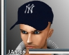 {JB} NY Yankees Blue Cap