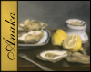 Oysters Painting, Manet