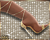 MK Gold Heels