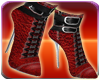 Goth Red Blood Boots