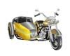 Harley Sidecar Gld/Silvr