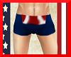 Capt America Shorts (M)
