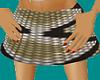 (A) snake skin skirt