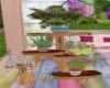 Boho Garden Plant Stand