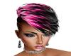 Hair Pink Black Lizzy 1