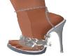 Luma Heels-Silver