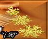 ~(K)~ Snowflakes Gold