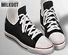 . Black Sneakers+Sock