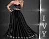 IV.Zoe Night Gown Black