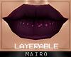 /Y/ Harley Purple Lips.
