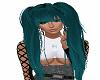 Wildie teal hair