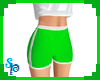 [S] Sport Shorts Green
